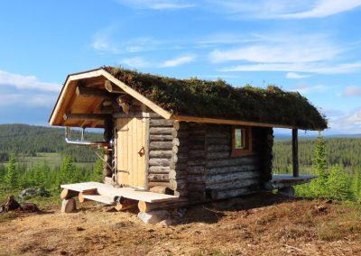 Blockhaus in Schwedisch Lappland mieten - Mad Muskox / Nordic Cabins