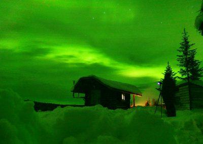 Nordlichter in Schweden: Unterkunft mieten